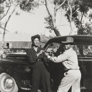 Estar and Roosevelt Campbell, Guadalupe Park : 1946