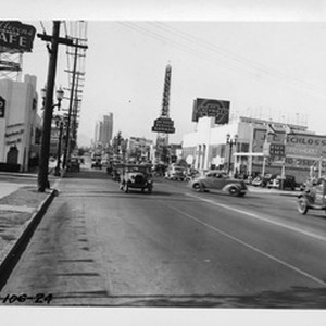 Western Avenue looking north from 9th Street, Los Angeles, 1937