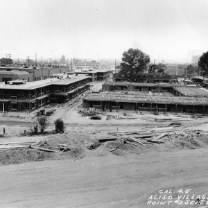 Building of Aliso Village, view 26