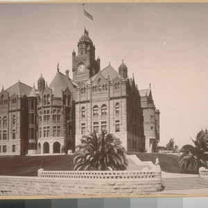 Old Country Court House, Los Angeles, California Park & Co. Photo No. ...