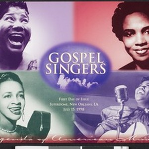 Gospel singers, First day of issue, Superdome, New Orleans, LA, July 15, ...