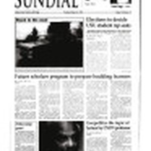 Sundial (Northridge, Los Angeles, Calif.) 1996-02-22
