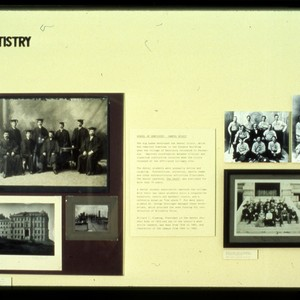 "UCSF Origins of Excellence exhibit ""Dentistry"""