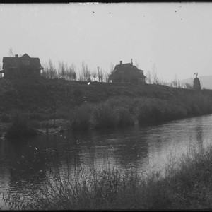 Francis G. Newlands' residence on the Truckee River, Reno