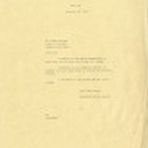 Letter from The Dominguez Estate Company to Mr. Floyd Seeking, November 24, ...