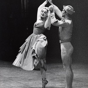 Cynthia Gregory and a male dancer in Christensen's Lady of Shalott, circa ...