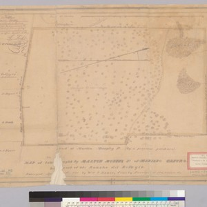 Map of land bought by Martin Murphy Jr. of Mariano Castro, being ...