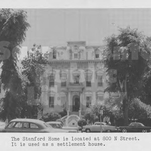 The Leland Stanford Mansion
