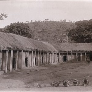 Porter's houses, in Cameroon
