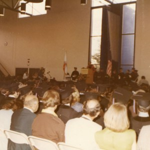 A Portion of the Audience and the Platform Guests at the Commencement ...