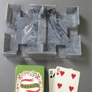 Playing card tray