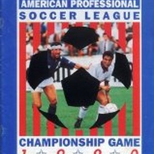 Presented By the Boston Bolts American Professional Soccer League Championship Game 1990