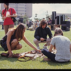 Students in Campus Park, ca. 1970