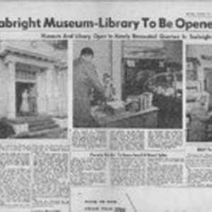 New Seabright Museum-Library To Be Opened Today