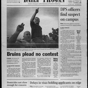 Daily Trojan, Vol. 147, No. 63, November 25, 2002