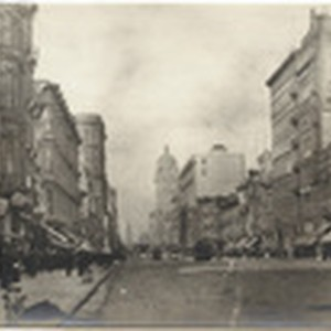 Market St. East from Mason, 1905