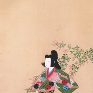 The courtesan Takao with bush clover