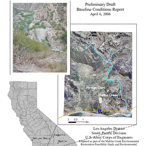 Malibu Creek Environment Restoration Feasibility Study Los Angeles County, California: Preliminary Draft ...