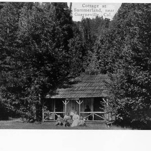 Cottage at Summerland, near Guerneville, California