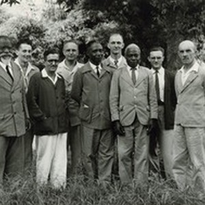 Committee of the divinity school of Ndoungue, in Cameroon