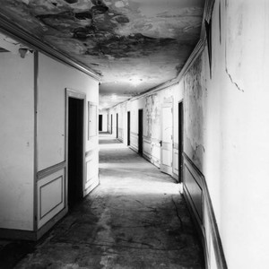 Ambassador Hotel, typical corridor, south wing