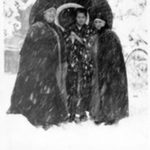 Mother Mary Joseph Rogers and Sr. Genevieve Beez standing in the snow ...