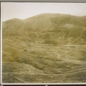 A portion of Death Valley, Cal., showing Mount Blanco, the great borax ...