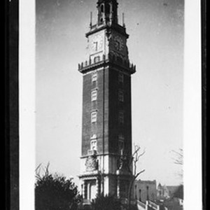 Torre de los Ingleses (British Tower) in Buenos Aires, Argentina