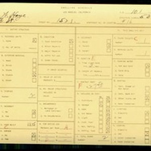 WPA household census for 1521 W 4TH ST, Los Angeles