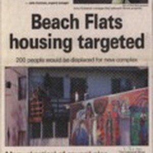 Beach Flats housing targeted