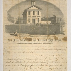 San Francisco English and Classical High School, Powell Street, Bet. Washington & ...