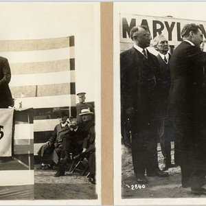 [Site selection ceremony for Maryland State Building, Panama-Pacific International Exposition]
