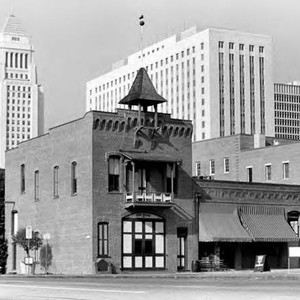 Plaza Firehouse at the corner of Los Angeles Street and Calle de ...