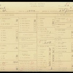 WPA household census for 1026 EFFIE, Los Angeles