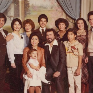 Family portrait, East Los Angeles, California