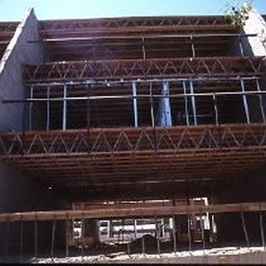 View showing the construction of the Riverfront Plaza Condominiums at 200 P ...