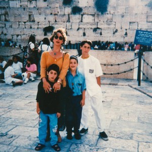 Family at Wailing Wall