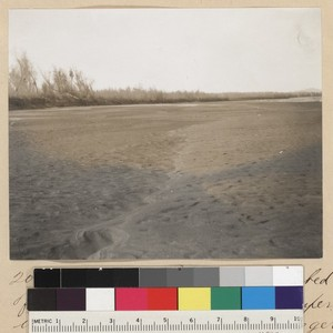 Yuma Project--Dry Bed of Colorado River Below Imperial Intake