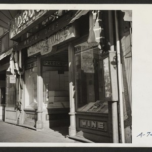 Evacuee property. Stores, formerly operated by evacuees of Japanese ancestry. These stores ...