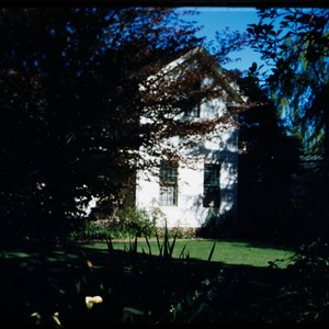 View of Luther Burbank home in the Luther Burbank Home & Gardens, ...