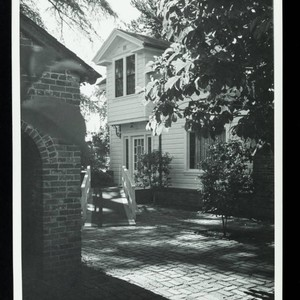 South Front Entrance and Ramp to House, Luther Burbank Home & Gardens, ...
