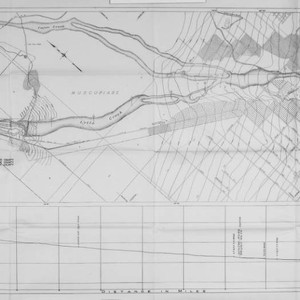 Santa Ana investigation. Flood control and conservation, map 2