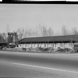 Western Manor Motel, Corning, Calif