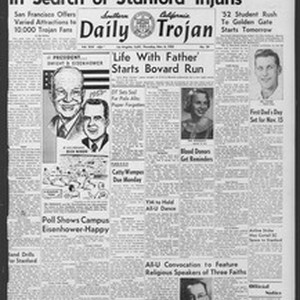 Daily Trojan, Vol. 44, No. 39, November 06, 1952