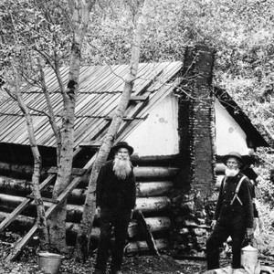 John Brown's sons and cabin
