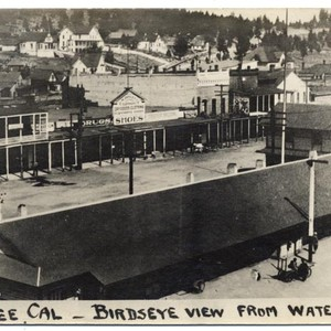 Truckee, Cal, Birdseye view from water tower