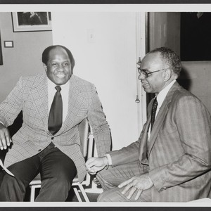 Willie Davis and Ivan J. Houston