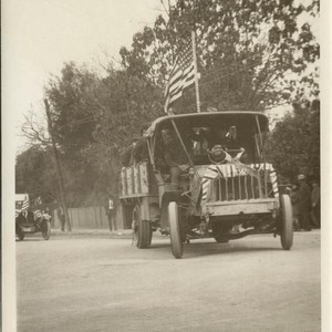 World War I Parade, San Luis Obispo, celebrating Armistice Day