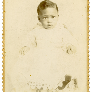 Portrait of unidentified child