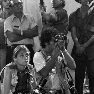 Photographers Susan Meiselas and Matthew Naythons, Managua, 1979